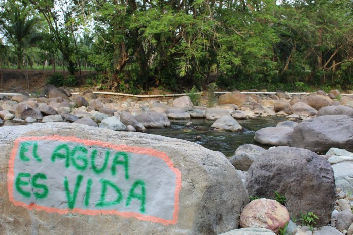 Río Guapinol, Tocoa. CESPAD, 2019.
